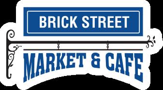 A theme logo of Brick Street Market